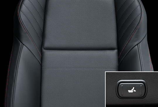 Leather Seats with Lumbar Support